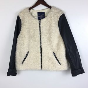 American Eagle Outfitters XXL Coat Faux Shearling